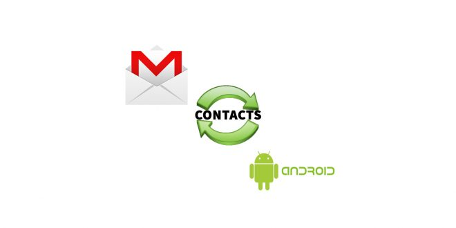 synchronize Contacts on Android with Gmail Account