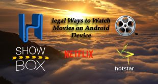 legal Ways to Watch Movies on Android Device