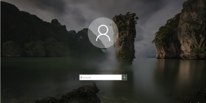 windows 10 reset password from lock screen